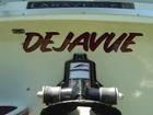 De Javue Boat Name Lettering