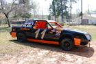 mini stock dirt track car