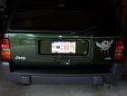 Rear of 1996 Jeep Grand Cherokee