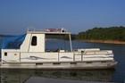 Party Hut Pontoon Boat