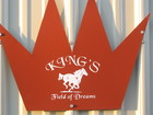 King's Field of Dreams barn sign