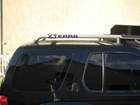 XTERRA logo on roof rack