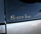 Car Name Decal