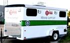 Rowlett Fire Corps Rehab Trailer