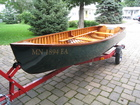 1953 Old Town Square Stern Boat