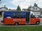 Our tailgate bus