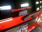 'Company Two' on the back of our fire department vehicle