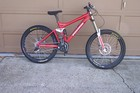 Ironhorse Logo on repainted DH bike