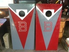 Vinyl Lettering on Cornhole Boards