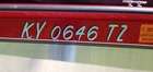 My new boat registration numbers