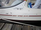 Torn pinstripe 'replacement' for my boat