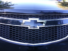Front badge on Chevy