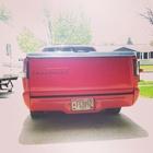 Classic Chevrolet on custom tailgate