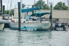 Our new sailing vessel, Riposo, at the Ft. Pierce, FL city marina