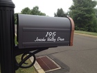Mailbox lettering