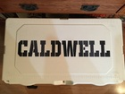 CALDWELL lettering