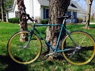 1978 Windsor Bike repainted and NEW DECAL