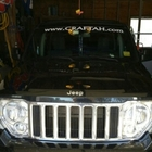 Lettering on Jeep