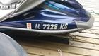 2015 Yamaha VX Cruiser registration sticker
