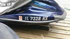 2015 Yamaha VX Cruiser registration sticker