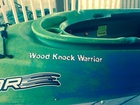 kayak name Wood Knock Warrior