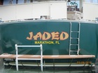 New Vinyl Boat Lettering with home port