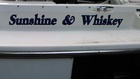 The boat has a name!!