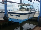 Putting boat in with new name