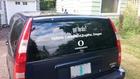 New window graphic on my car