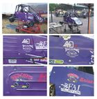 Granddaughters 1/4 Midget Race Car Decals