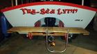 Newly christened 20' Simmons Sea Skiff