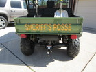 Dallas County Sheriff&#39s Posse UTV