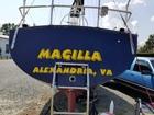 Magilla - transom lettering