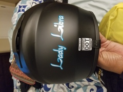 Back of my helmet