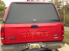 My wife truck she calls