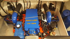 496HO boat engine