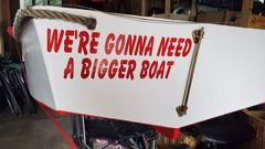 Freshly installed boat name!
