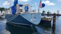 Lake Superior sailboat