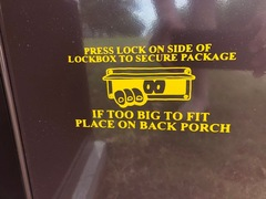 Mailbox Instructions 2 of 2