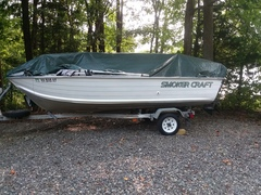 Smoker craft boat decal