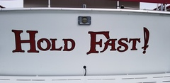 Boat Name - Hold Fast!